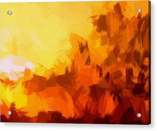 Sunset In Valhalla Acrylic Print
