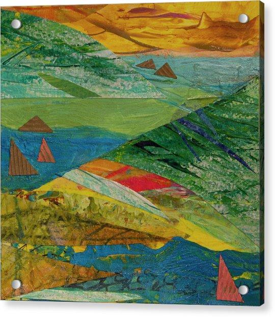 Sunset Sails 3 Acrylic Print