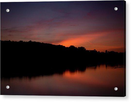 Suwannee Sundown Acrylic Print