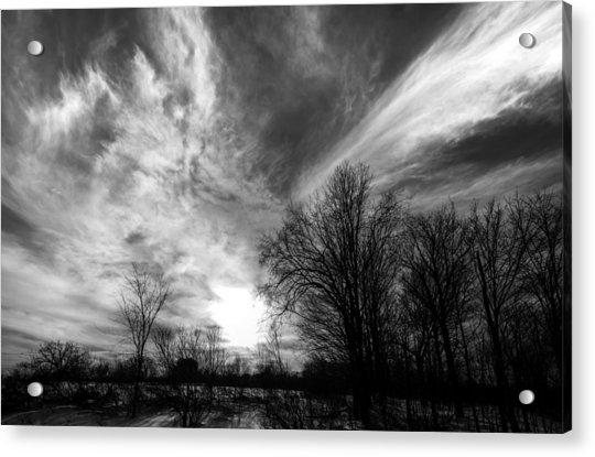 Sweeping Sky Acrylic Print
