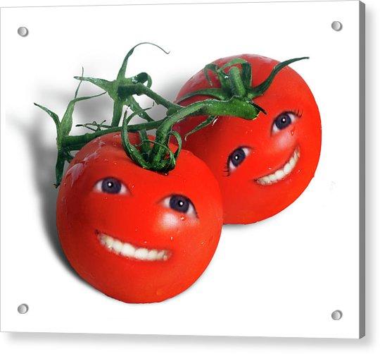 Sweet Tomatoes Acrylic Print