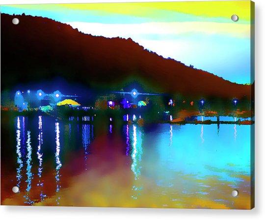 Symphony River Acrylic Print