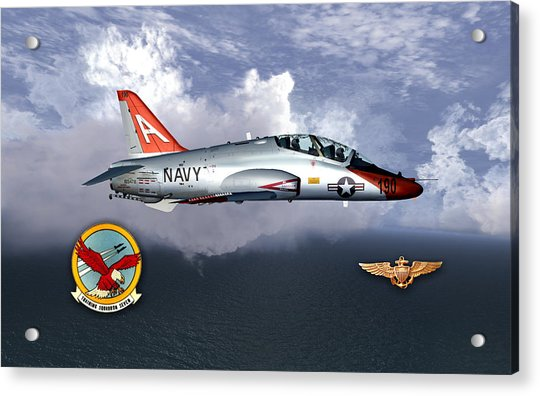 T-45 With Wings Acrylic Print