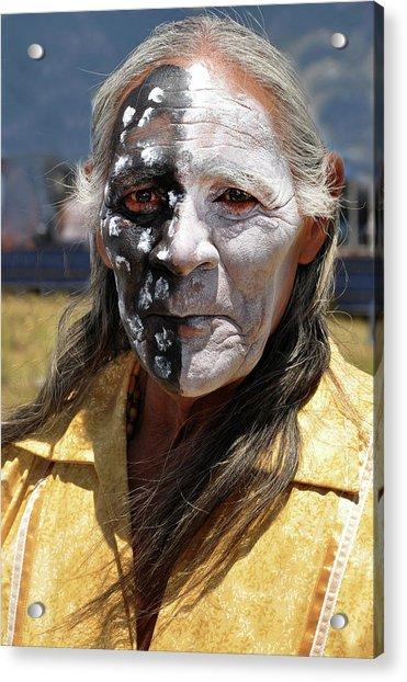Taos Elder Acrylic Print
