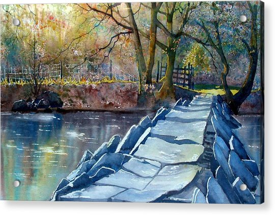 Tarr Steps Revisited Acrylic Print