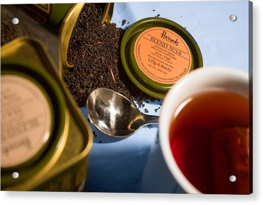Acrylic Print featuring the photograph Tea Time by Break The Silhouette