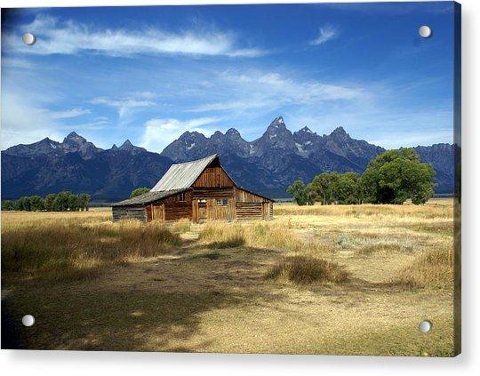 Teton Barn 3 Acrylic Print