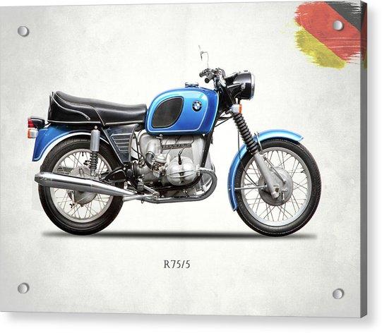 The 1972 R75 Acrylic Print