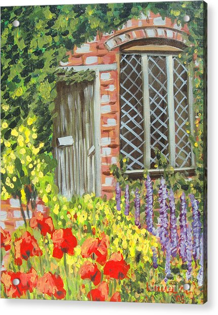 The Artist's Cottage Acrylic Print