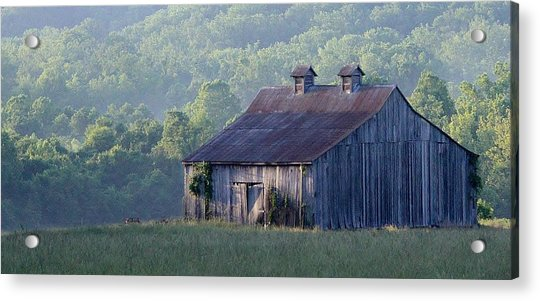 The Barn Acrylic Print
