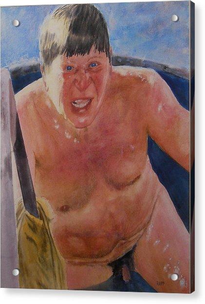 The Big Finn Acrylic Print by Jan Rapp