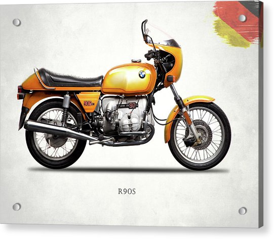 The R90s Motorcycle 1974 Acrylic Print