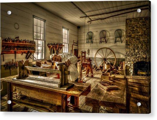 The Cabinetmaker Acrylic Print
