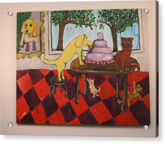 The Cake Acrylic Print