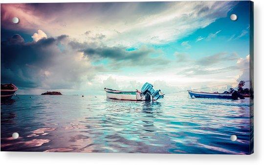 The Caribbean Morning Acrylic Print