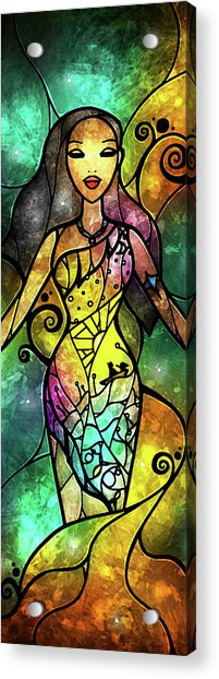 The Chief's Daughter Acrylic Print