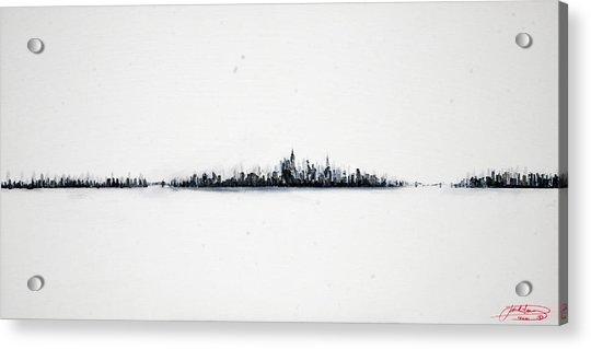 The City New York Acrylic Print