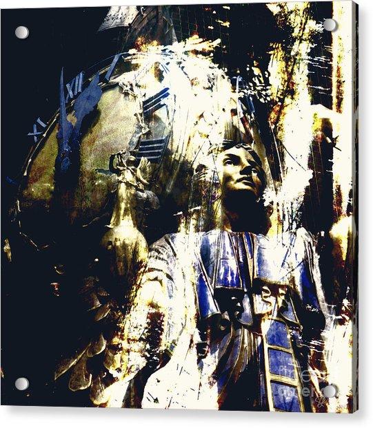 The Clock Struck One Acrylic Print