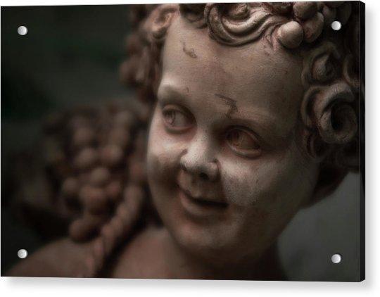 The Creepy Statue Acrylic Print