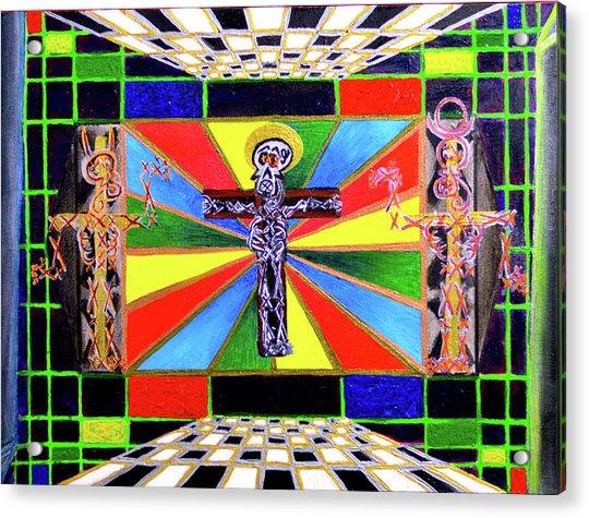 The Crucifffictiooon - Paradisi Gloooria Acrylic Print