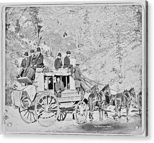 The Deadwood Coach Acrylic Print