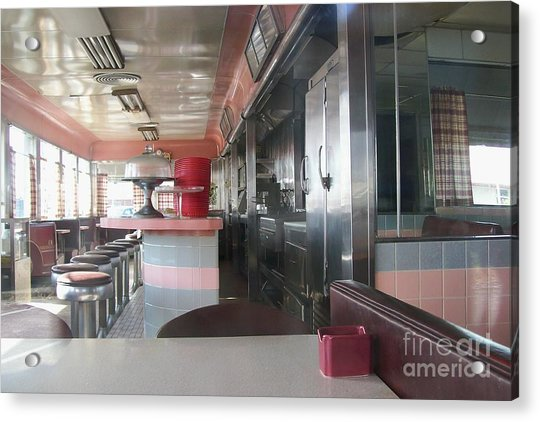 The Diner Acrylic Print