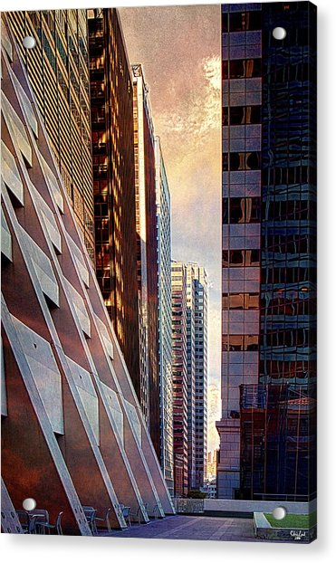 Acrylic Print featuring the photograph The Elevated Acre by Chris Lord