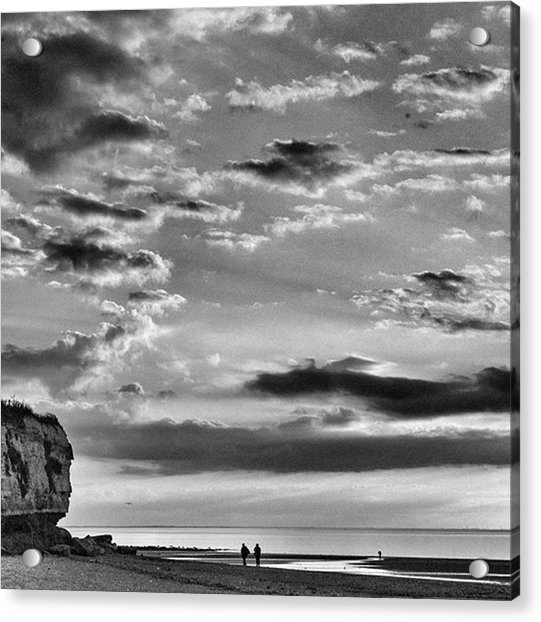 The End Of The Day, Old Hunstanton  Acrylic Print