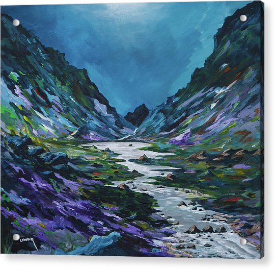 The Gap Of Dunloe Acrylic Print