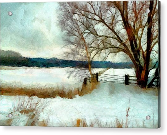 Acrylic Print featuring the painting The Gateway by Valerie Anne Kelly