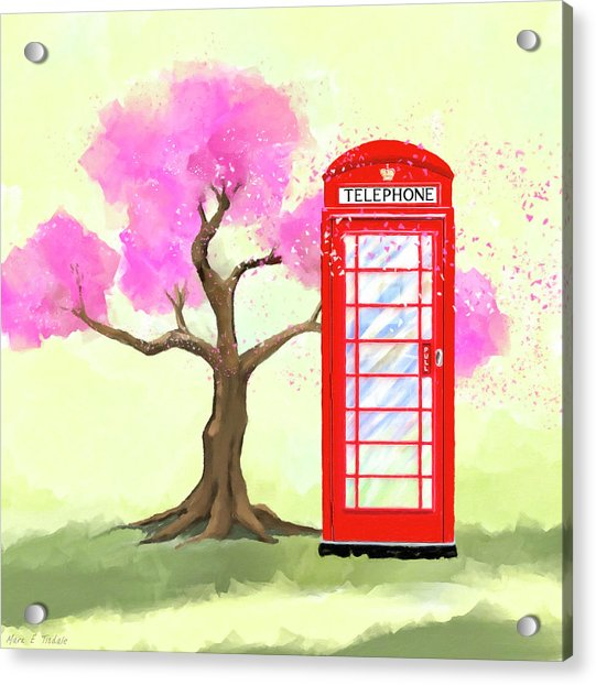 The Great British Spring Acrylic Print