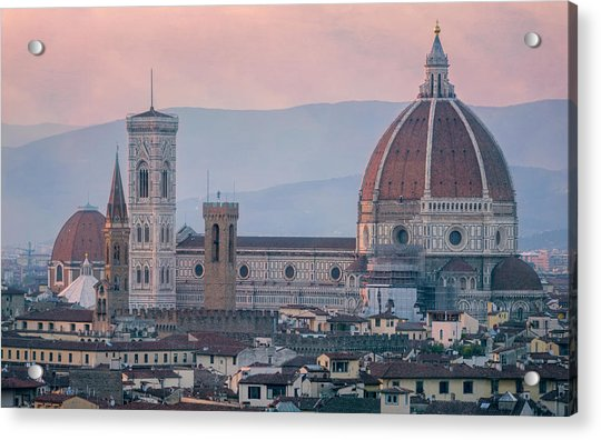 The Heart Of Florence Italy Acrylic Print