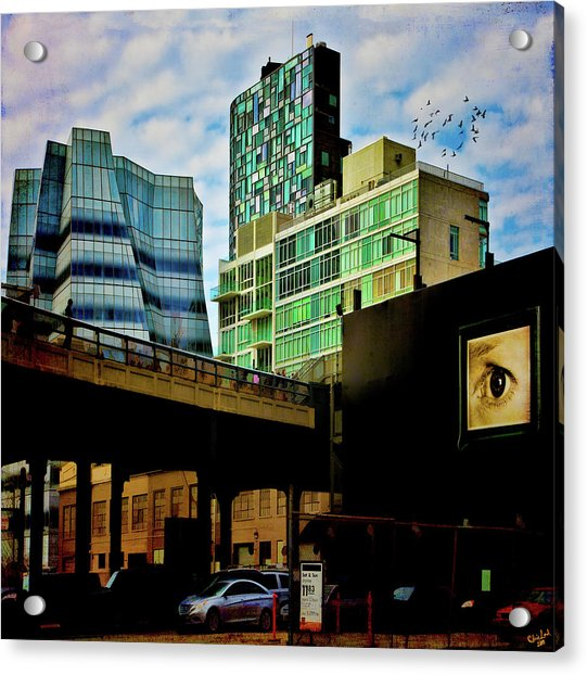 Acrylic Print featuring the photograph The Highline Nyc by Chris Lord