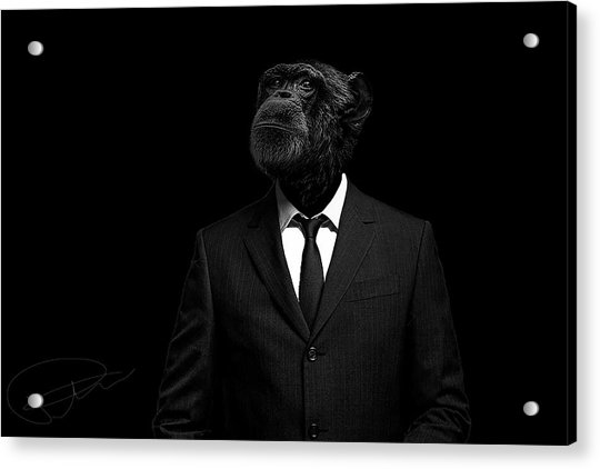 The Interview Acrylic Print