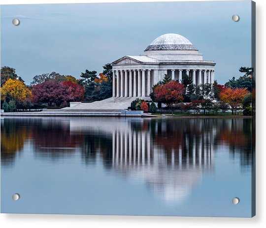 The Jefferson In Baby Blue Acrylic Print