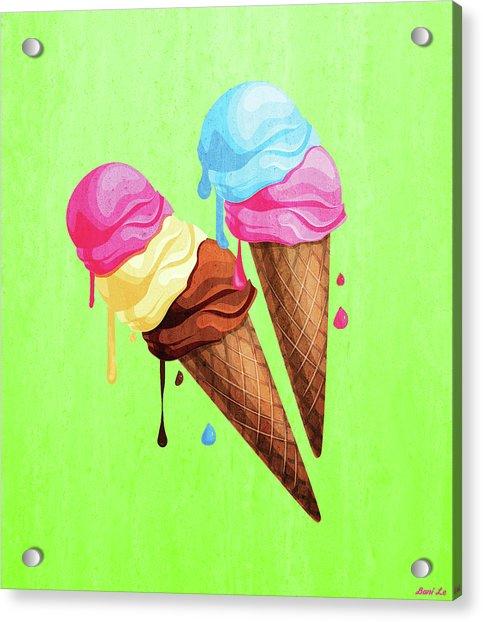 The Last Taste Of Summer Is The Sweetest Acrylic Print