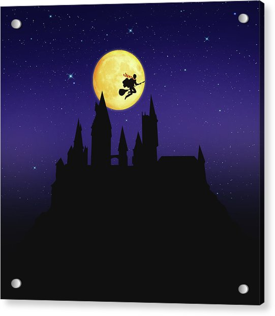 The Legend Of Witch Acrylic Print