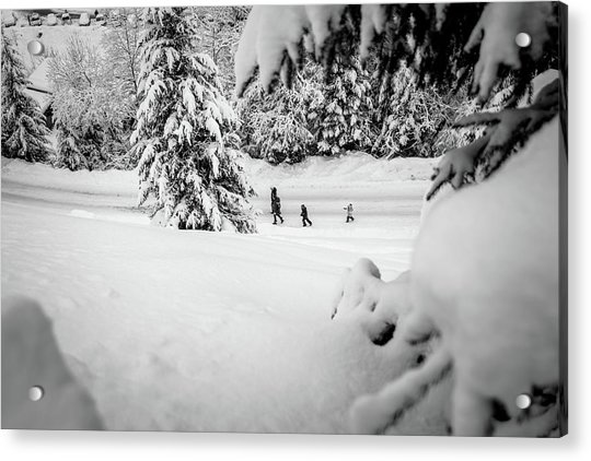 The Long Walk- Acrylic Print