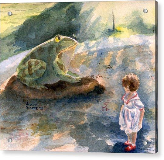 The Magical Giant Frog Acrylic Print