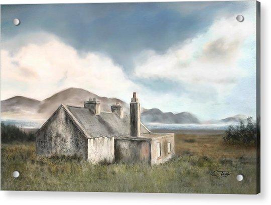 The Mist Of Moorland Acrylic Print