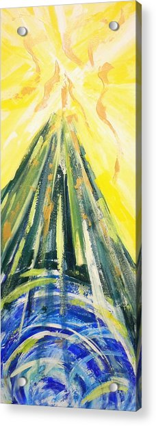 The Mountain Of The Lord Acrylic Print