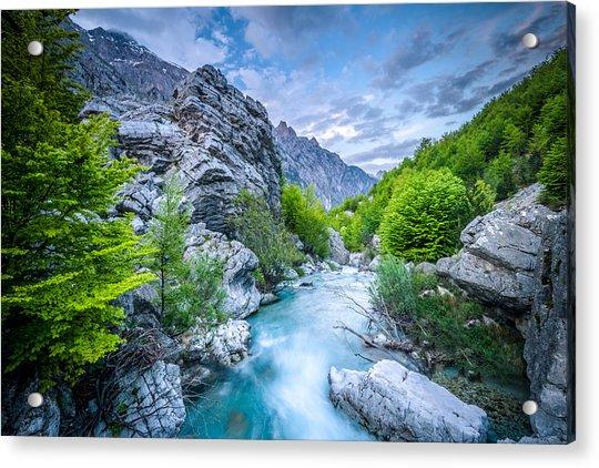 The Mountain Spring Acrylic Print