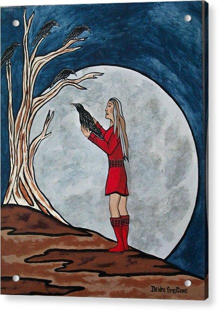 The Mystical Experience Acrylic Print by Deidre Firestone