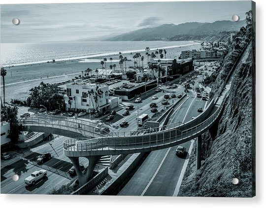 The New P C H Overpass Acrylic Print