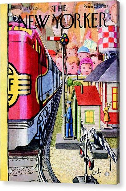 New Yorker December 17th, 1955 Acrylic Print