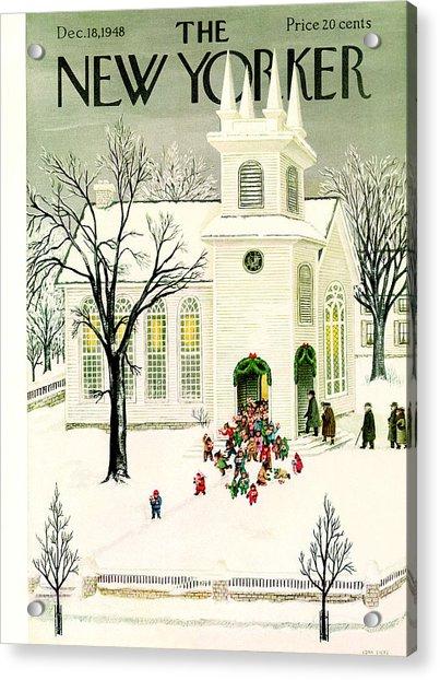 New Yorker December 18, 1948 Acrylic Print