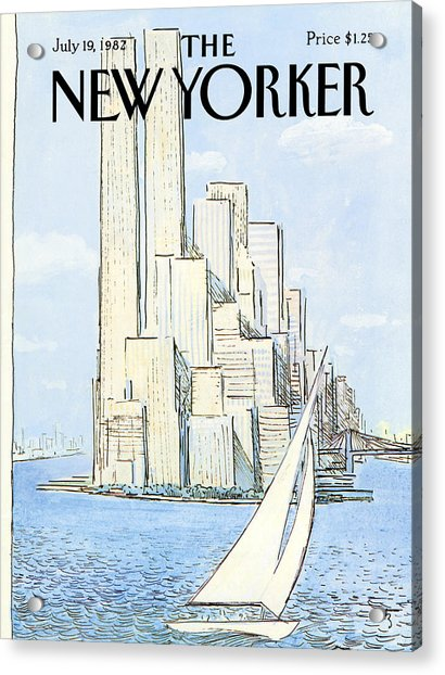 The New Yorker Cover - July 19th, 1982 Acrylic Print
