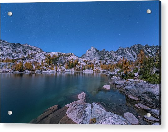 The Night In Leprechaun Lake Acrylic Print