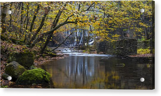 The Old Blanchard Mill Acrylic Print