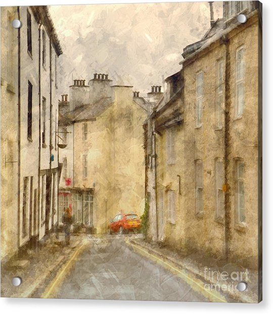 The Old Part Of Town Acrylic Print